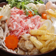 伝統の《ちゃんこ鍋》