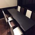 ゆったりとした造りのテーブル席があり各種宴会におすすめ◎