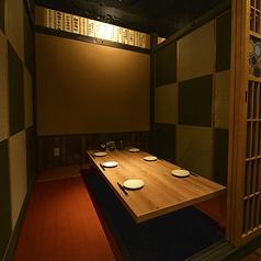 接待にも最適な落ち着いた雰囲気の和個室もご用意しております。(※個室利用時は別途お1人様500円を頂戴します。)