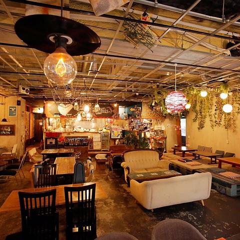【女子会からデートまでコスパ良し♪】船橋イチおしゃれな店内空間で美味な創作料理!