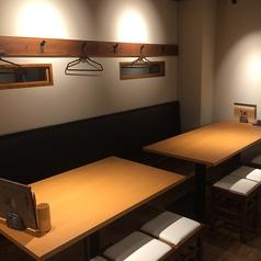 1階のお席はテーブル席です。