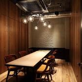 【4名~30名様】テーブル席の完全個室(壁・扉あり)