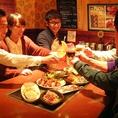 6名様~30名様迄個室有り♪気の合う仲間と鉄板囲めば、鉄板の上のジューっという音といい匂いと熱々の料理で、食欲も会話も弾みます。
