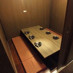写真は6名様完全個室★何名様でも完全個室へご案内★※系列店との併設店舗です。