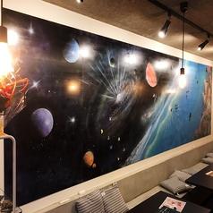 宇宙CAFE&天然石BAR PLUTO プルートの雰囲気1