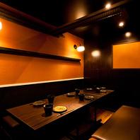 大人数での宴会に最適な半個室席あり!フロア貸切も可能