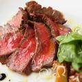 料理メニュー写真和牛もも肉のタリアータ