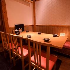 姫路駅で人気の個室バル♪テーブル席も多数ご用意がございます♪人数にあわせて最適なお席にご案内致します♪