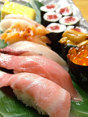 ネタとシャリにこだわった人気のお寿司屋さんです。