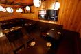 4名様から22名様までテーブル席での御宴会が可能です!