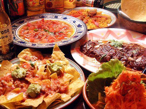 野菜ソムリエが作り出す、本物のメキシコを体感してください。ここは、メキシコ!!