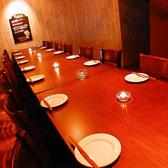 全室個室★【2階】、20名個室、【2階】パーティスペース20名個室、30名個室、40名個室、最大60名様個室完備。会社宴会、結婚式二次会、ウエディングパーティに◎