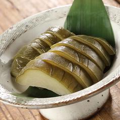 料理メニュー写真若瓜のお漬物