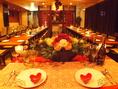 結婚式2次会コースもあります♪特典も多数で幹事様を全力でサポート!