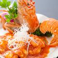 料理メニュー写真大海老のチリソース