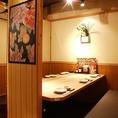 広々テーブル席もご用意。海鮮居酒屋 はなの舞 南浦和東口店
