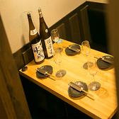 少人数でも落ち着いてゆったり飲めるテーブル席。お客様によっては個室よりも人気です♪【天王寺 ランチ 居酒屋 個室 誕生日 肉 飲み放題 もつ鍋 海鮮   肉寿司 日本酒 焼き鳥 串カツ】