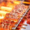 料理メニュー写真もんどころの串焼き