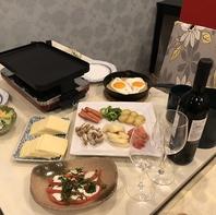 夜はスイス料理が楽しめます♪