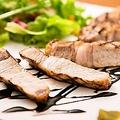 料理メニュー写真国産豚ロース肉のグリル