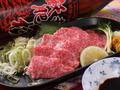 料理メニュー写真熊本県産 特選霜降馬刺