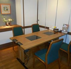2名様~ご利用頂けるテーブル個室。最大40名様可能です。