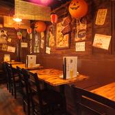 みんなで囲む宴会テーブル席昭和レトロな空間で雰囲気◎テーブル席でみんなで盛り上がろう!