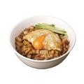 料理メニュー写真月見滷肉飯(つきみルーロー飯)