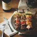 料理メニュー写真牛ランプ・イベリコ豚・特製マリネチキン