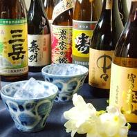 各種日本酒、焼酎も◎