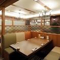 テーブルBOX席はデート、接待、小宴会にもおすすめのお席です。北海大漁舟盛りに生ラム焼肉or北海海鮮石狩鍋や名物ザンギなど豪華料理をお楽しみください。刺身居酒屋うおや一丁の飲み放題付き宴会コースは3500円よりご用意をしております。厳選した新鮮な鮮魚をめいいっぱい利用した飲み放題付き宴会コースはどれも人気!