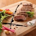 料理メニュー写真【仙台牛】霜降り和牛のフィレステーキ