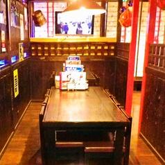 6名用テーブル席×2
