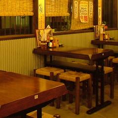 4名様用のテーブル席です。窓側のお席なので、あまり周囲の目が気になりません。デートや合コンにもお使いいただけます。
