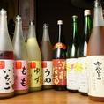 果実酒は女性に人気。色々と味を楽しめます!