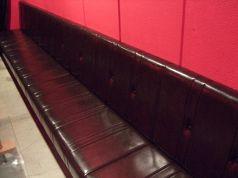 最大10名様まで座れるベンチシート 個室