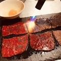 料理メニュー写真特選和牛の焼きすき焼き