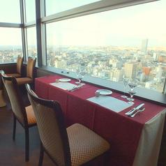 最高の眺め!デートにお薦めした特別席!ディナーはもちろんですが、ランチの景色も絶景!天気が良い日は海がはっきり見えます★