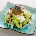 料理メニュー写真揚げじゃこと白菜のサラダ ~香味白ドレッシング~