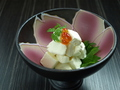 料理メニュー写真粕漬けクリームチーズ