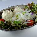 料理メニュー写真ポテトサラダ/大根サラダ