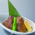 料理メニュー写真本まぐろのほほ肉のステーキ