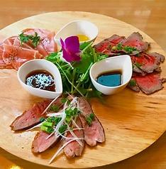 料理メニュー写真Riseの肉三種盛り