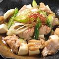 料理メニュー写真九条葱と若鶏のすき焼き風