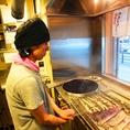 【職人技が光ります】 長年修行した職人が、美味い鰻を厳選。串の打ち方、炭のおこし方、焼き加減など隅々までこだわって焼き上げます。