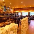 開放感のある広々とした店内。フリー来店にも、ご宴会にも使えるスペースです!!