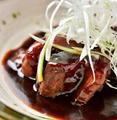料理メニュー写真豚角煮で酢豚