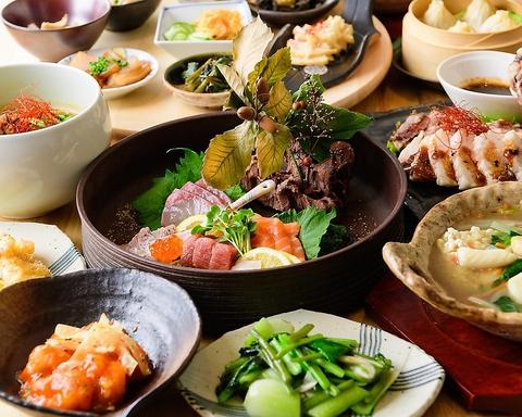 【2時間飲み放題付】迷ったときはコレ!小籠包や麻婆豆腐など中華の定番がここに!4000円コース