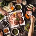 料理メニュー写真『屋内BBQ!焼き肉食べ放題コース』2H飲み放題付お肉・野菜・デーザート全部食べ放題!【4980円→3980円】