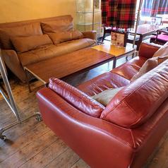 人気のソファー席♪